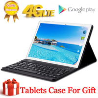Promo Regalo gratis funda para tableta 4G LTE 10 1 pulgadas 2 5D tableta 10 Deca Core