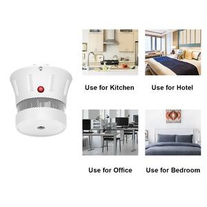 Image 5 - CPVan 2pcs/Lot Smoke Detector 10 Years Battery CE Certifed EN14604 Smoke Alarm Detector Sensor Fire Alarm For Home Security