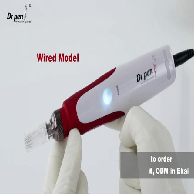 بطارية قابلة للشحن Dr.pen N2-C الكهربائية إبرة مجهرية ديرما المتداول ختم الطبية MTS الإبر القلم 2