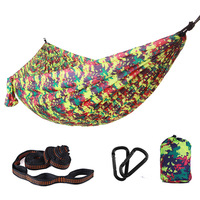 Highly Compatible Extra large 300 X 200cm Hammock Outdoor Parachute Cloth Ultra Light Double Swing Hanging Chair Indoor Hammock