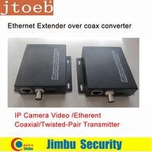 Extensor ethernet sobre o conversor coaxial 2km para câmeras ip vídeo/ethernrt coaxial/trançado par t