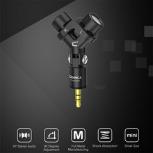 Comica CVM-VS10 XY Stereo Dual Mikrofon Mini Flexible 3,5mm Plug-in Mikrofon Mic Für Studio GOPRO Kamera Professionnel