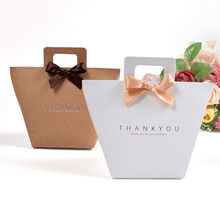 30Pcs Candy Bag with Handles Bronzing