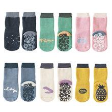 Плотные осенне зимние хлопковые носки для маленьких мальчиков