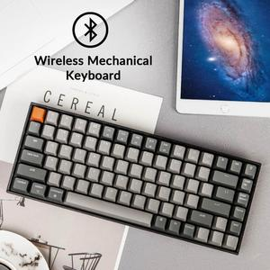 Image 4 - Keychron K2 A V2 Bluetooth Mechanical Keyboard w/ Gateron Red Switch/White LED Backlit 84 Key Wireless Keyboard for Mac Windows