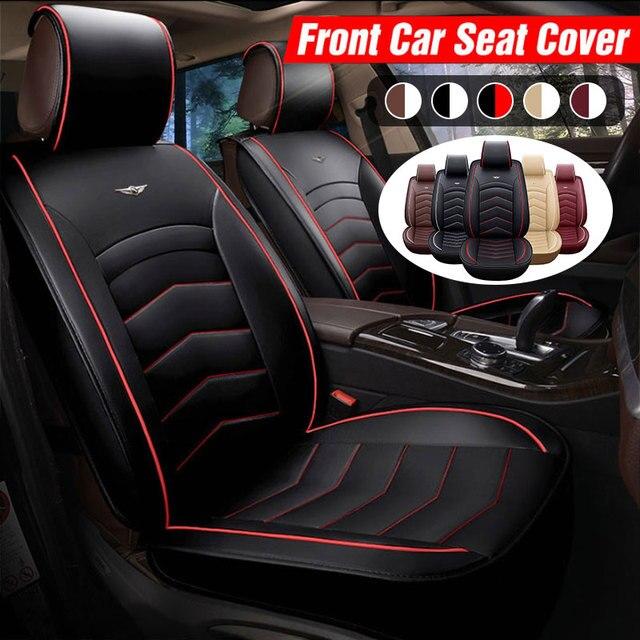 Car Seat Cover PU Leather Cushion Protector SUV for lada VESTA SAMARA for ford FOCUS for tesla Modle 3 Modle X