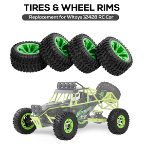 Wltoys RC Car Tire Replacement