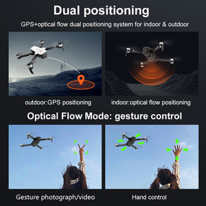 Image 4 - 2019 New RC Drone 8811 GPS 5G Quadcopter with Wide Angle GPS 4K Camera Drone Gesture Foldable Optical Flow Dron Helicopter Toys