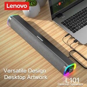 Image 2 - Lenovo L101ลำโพงคอมพิวเตอร์สเตอริโอ Surround ลำโพงซับวูฟเฟอร์สำหรับแล็ปท็อป Macbook Notebook PC Player สายลำโพง