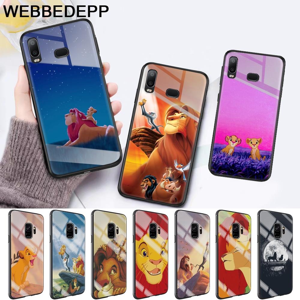 Lion King Pumba Hakuna Glass Case for Samsung S7 Edge S8 S9 S10 Plus A10 A20 A30 A40 A50 A60 A70 Note 8 9 10