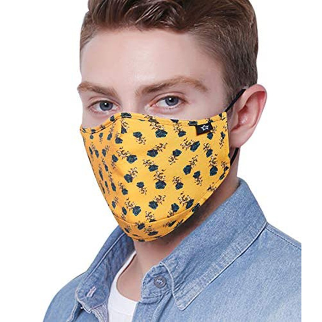 funny floral print scraf with 4pc Filter Dustproof Windproof Foggy Haze maske scraf face maskswashable and reusable maske