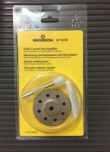 Image 2 - Swiss watch repair tool Bergeon 5378 manual needle loader