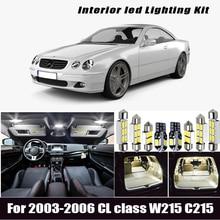 6x marcha atrás LED bombilla + aparcamiento lámpara luz externa kit 2003-2006 Mercedes Benz clase CL en W215 C215 coupe CL500 CL600 CL55AMG