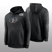 Sweat-shirt à capuche pour hommes, tenue de sport, tenue de football, couleur noire, prise sur le côté, S-4XL