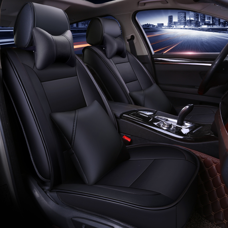 Full Coverage Eco leather auto seats covers PU Leather Car Seat Covers for ford	kuga mk2 mondeo mk3 mk4 ranger|Automobiles Seat Covers| |  - title=