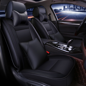 Full Coverage Eco-leather auto seats covers PU Leather Car Seat Covers for nissantiida versa x-trail t30 t31 t32 xtrail