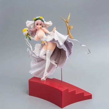 30cm super sonico sexy girl 10th Action Figure PVC Collection Model toys brinquedos for christmas gift