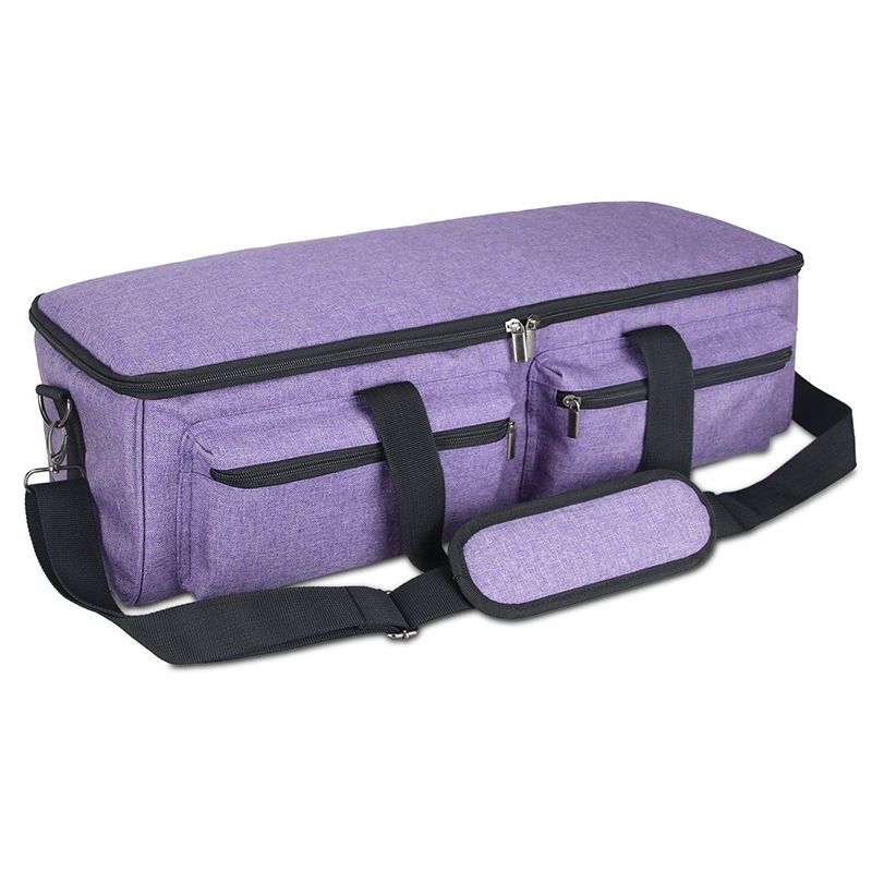 Carrying Bag Compatible with Cricut Explore Air 2  Storage Tote Bag Compatible with Silhouette Cameo 3 and Supplies Purple|Bags & Baskets| |  - title=