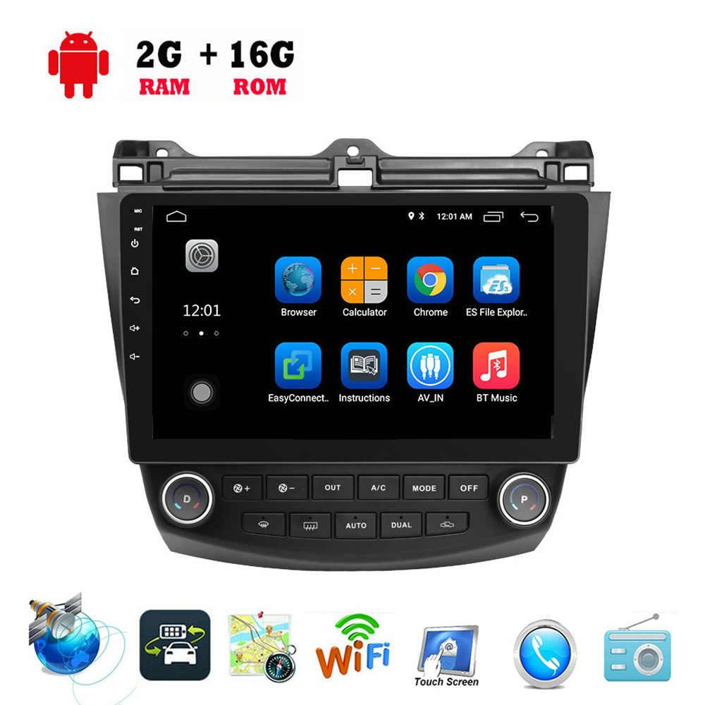 "10.1/"" Android 9.1 Car GPS Stereo Radio for Honda Accord 2003 2004 2005 2006 2007"