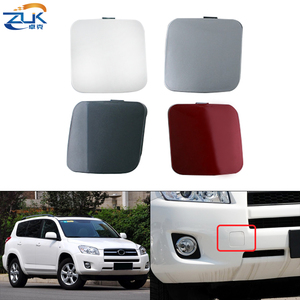 ZUK Front Bumper Towing Hook Cover Lid Silver White Black Red White Left Right For Toyota For Rav 4 2009-2011