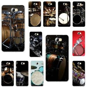 Модные барабанные музыкальные мягкие ТПУ Аксессуары для мобильных телефонов huawei P7 P8 P9 Mini P10 P20 P30 Smart Lite Plus 2017 2019 сумка