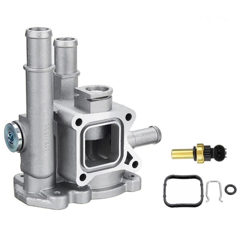 Aluminium Thermostat Gehäuse Abdeckung 96984103 96817255 für Chevrolet Chevy für Cruze Aveo Orlando für Opel Astra Zafira Signum Moka
