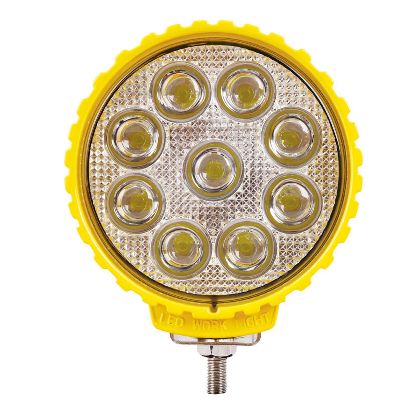 Industry And Mining Engineering Spotlight Cross-country Light 27W Floodlight LED Work Light Highlight Spotlight