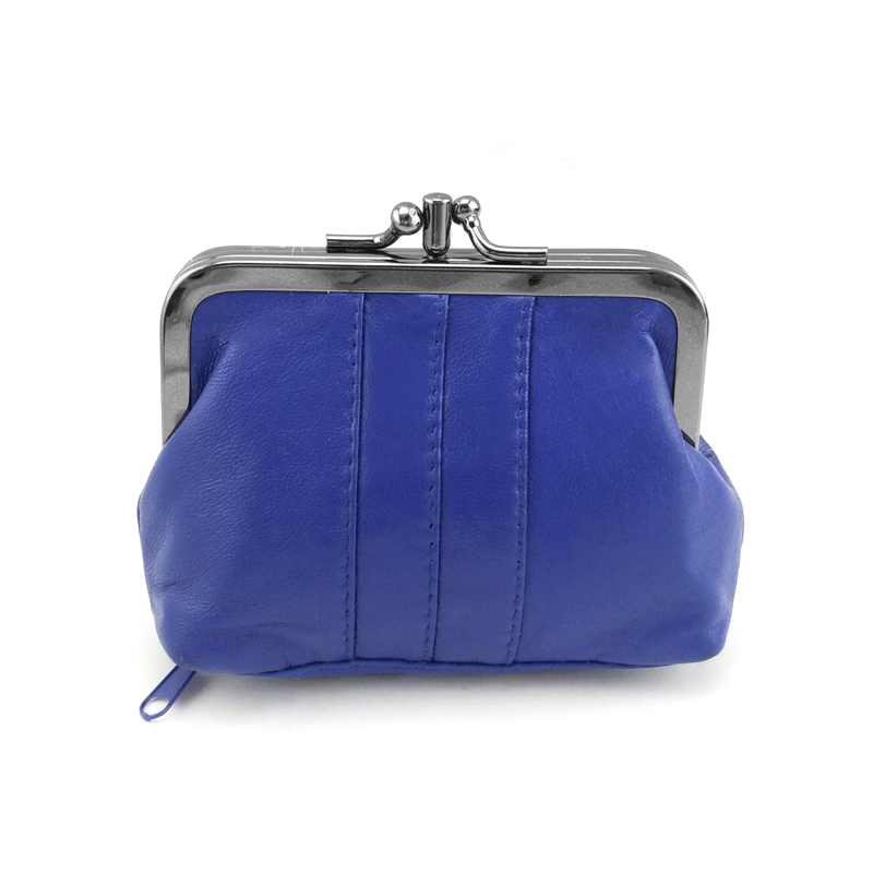 BELLO TUTTI Women Sheepskin Mini Change Purses Female Small Bag Genuine Leather Hasp Zipper Coin Wallet Girls Casual Money Bag