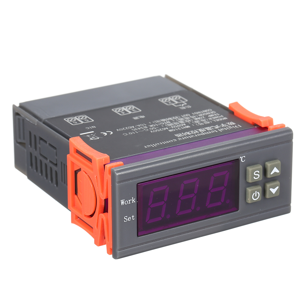 <font><b>MH</b></font>-<font><b>1210W</b></font> Intelligent Microcomputer Digital Temperature Controller High Accuracy Heating/Cooling Temperature Control Thermostat image