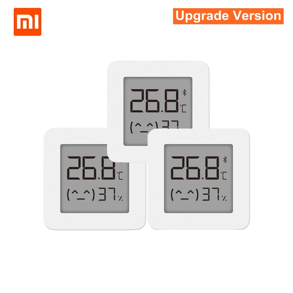 <font><b>Xiaomi</b></font> Mijia Bluetooth Thermometer 2 <font><b>Smart</b></font> Wireless Electric Digital Hygrometer Thermometer Work With Mijia APP <font><b>Smart</b></font> <font><b>Home</b></font> image