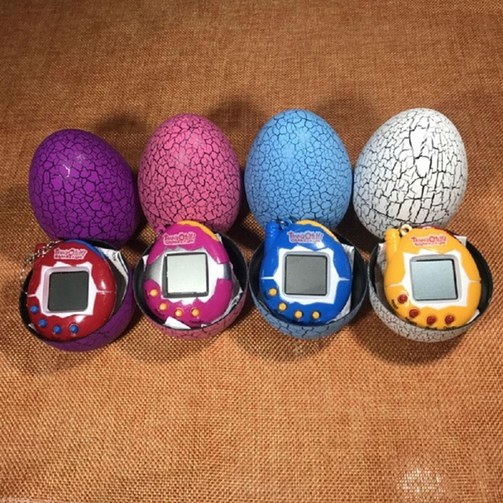 Cool Dinosaur Egg Virtual Cyber Digital Pet Game Toy Digital Electronic Virtual Pet Toy Birthday Christmas Holiday Gift