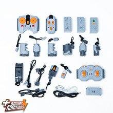 Bloc de construction à petites particules, pièces MOC pf, moteur de télécommande, batterie au lithium, ensemble de fonctionnement de téléphone portable, jouet d'assemblage ev3