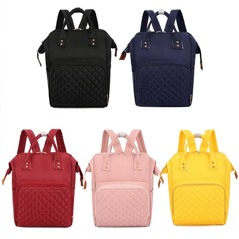 Fashion Diaper Bag Backpack Mommy Backpack Nylon Maternity Bags Baby Care Multifunction Nursing Travel Stroller Nappy Bag