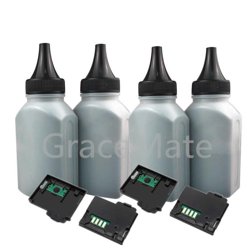 4 czarny proszek + 4X chipem kompatybilny dla Fuji drukarka Xerox Docuprint CM115w CM115 CM225w CM225 CP115w CP115 drukarka laserowa