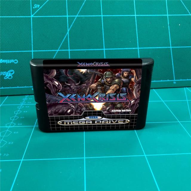 Xeno cartucho de juegos de 16 bits, para consola MegaDrive Genesis