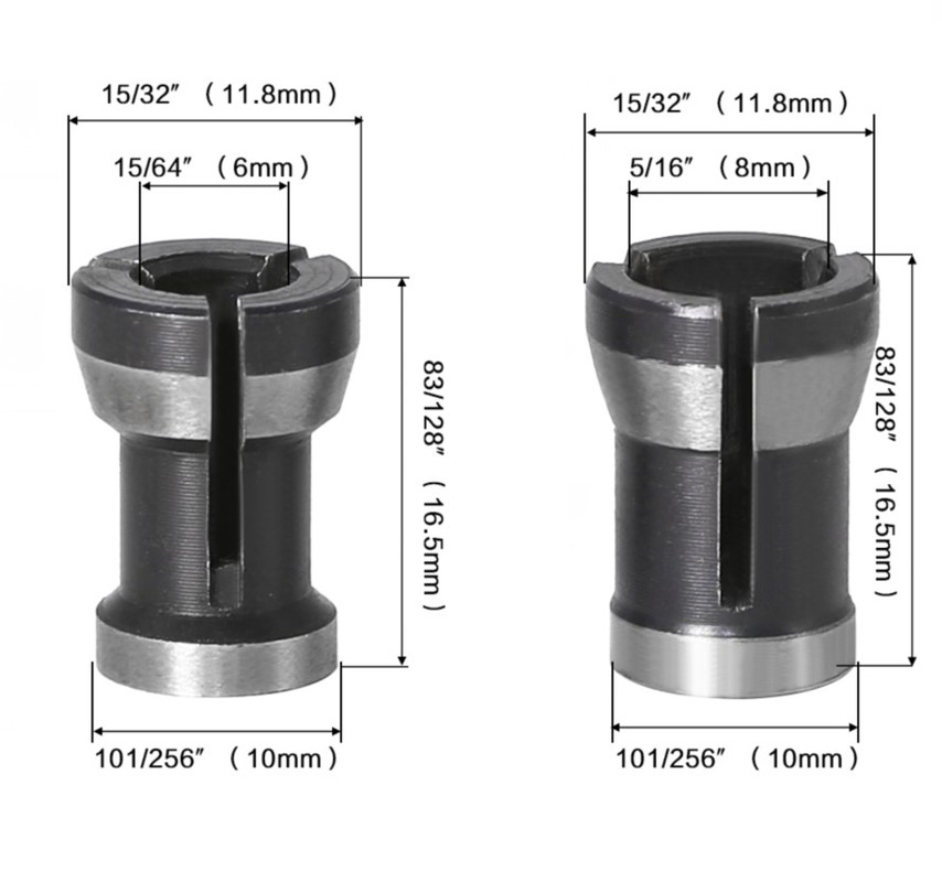 1pc Collet Chuck Head 8mm Electric Router Engraving Trimming Carving Machine