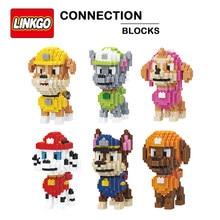 Novos produtos balody pequenos tijolos-construção brinquedos wang-wang resgate-equipe modelo diy conjunto figura blocos de construção crianças presentes brinquedo