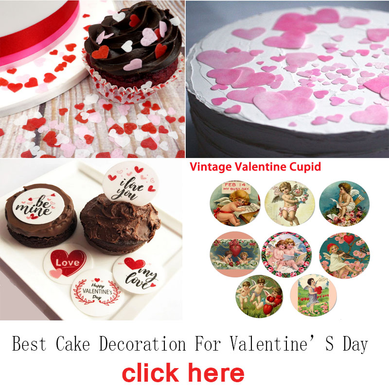 30X 4cm 1ST WEDDING ANNIVERSARY EDIBLE FONDANT WAFER FAIRY CUP CAKE TOPPERS
