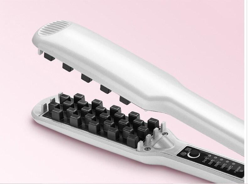 da temperatura para o cabelo macio fino anti-enrolamento nenhum dano