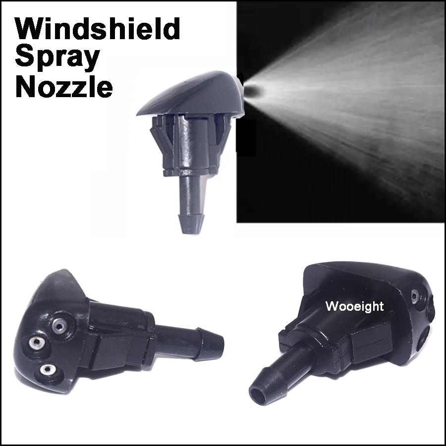 1Pair Car Windshield Wiper Washer Spray Nozzle Fit For Hyundai Accent Elantra Sonata Tiburon Kia Optima Amanti Rio Spectra 2004