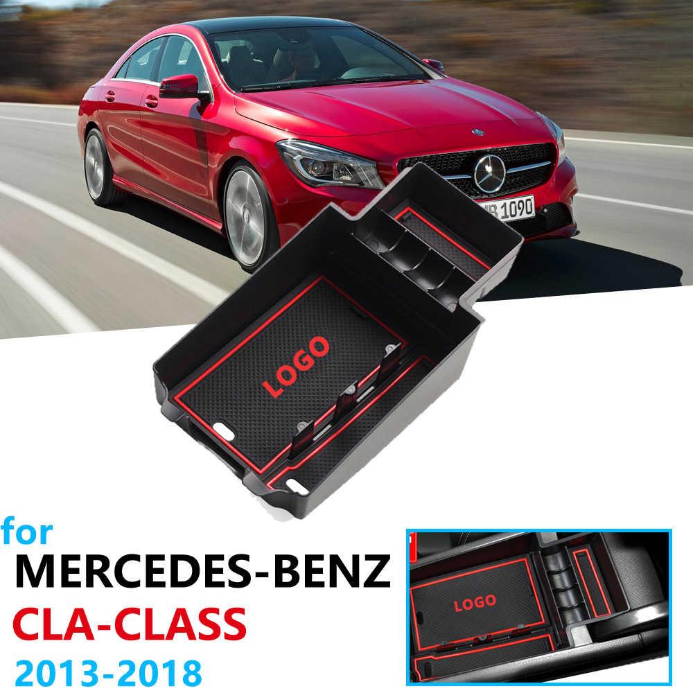รถ Organizer อุปกรณ์เสริมสำหรับ Mercedes Benz CLA C117 W117 2014 2015 2017 2018 2019 180 200 220 250 AMG 45 CLA250 กล่อง