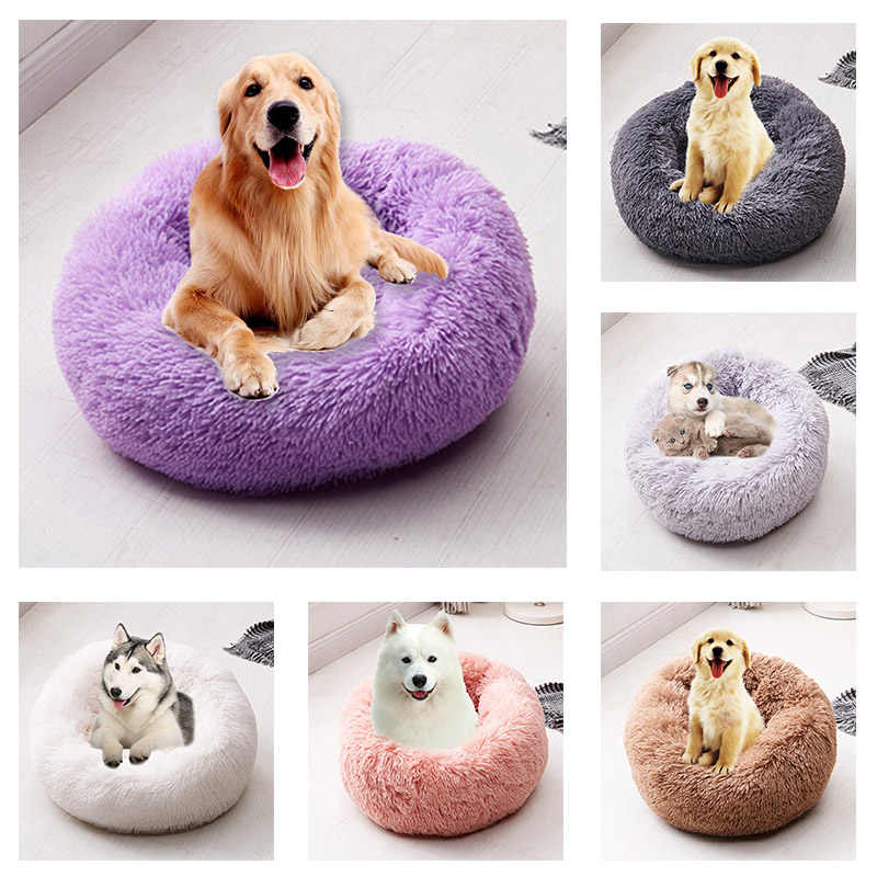 Zachte Hond Bed Wasbare Lange Pluche Hond Kennel Kat Huis Matten Sofa Voor Hond Chihuahua Hond Mand Huisdier Bed