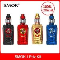 Original SMOK I Priv Vape Kit 230W +TFV12 Prince Tank 8ML + Mesh/Strip Coils Electronic cigarette smok i priv box mod vape kit