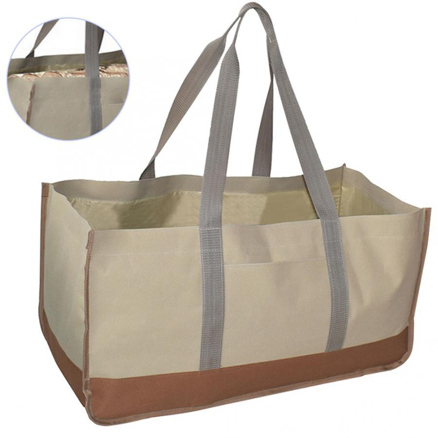 Large Capacity Ping Bag Firewood Holder Wood Carrying Outdoor Picnic Log Carrier