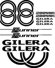 Para gilera vxr200 200vxr vxr 200 corredor scooter ciclomotor decalques adesivos gráficos