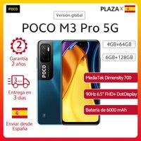 Code: 07ESOW15 Nuevo POCO M3 Pro 5G Dual SIM teléfono inteligente versión Global NFC MTK 700 90Hz 6,5