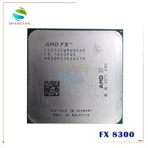 AMD FX-Series FX 8300 FX8300 3.3 GHz Eight-Core 8M Processor Socket AM3+ FD8300WMW8KHK CPU 95W  FX-8300