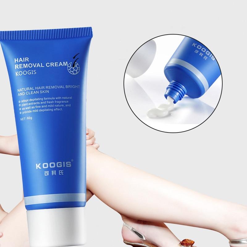 KOOGIS Painless Removal Cream Razorless Shaving Cream Depilatory Bubble Wax Body Bikini Legs Remover 60g Drop Shipping