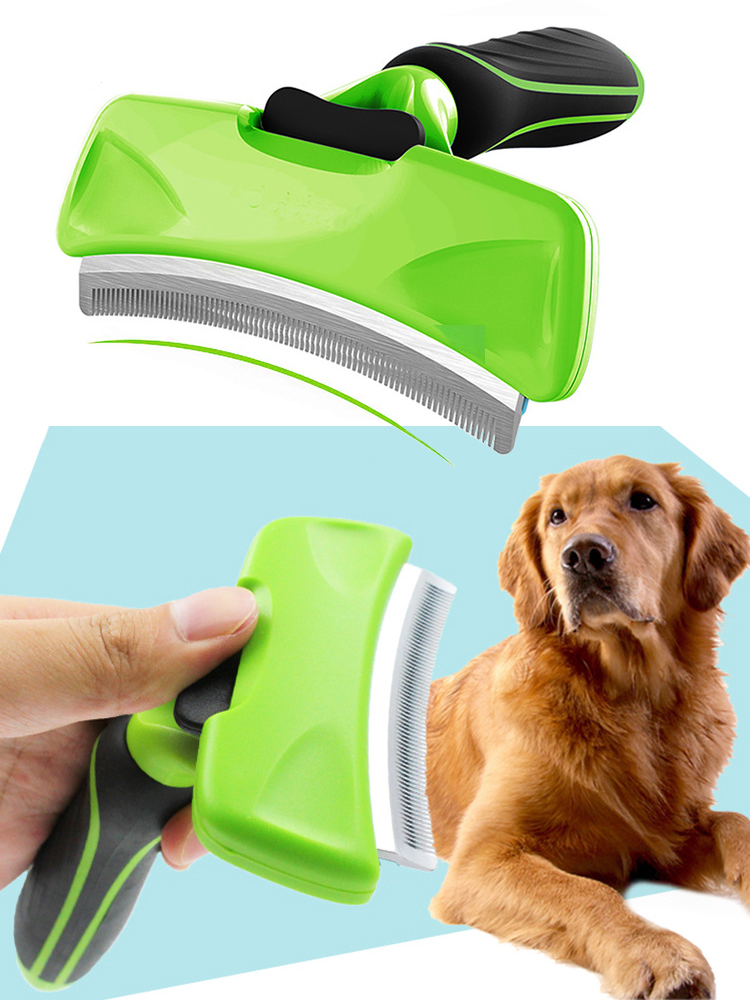 Combs Grooming-Brush Deshedding-Tool Pet-Hair-Remover Edge-Trimming Furmine Dog-Cat-Rake