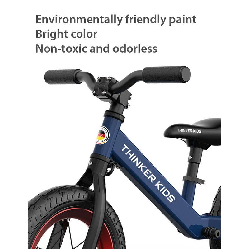 Детский беговел, детские ходунки, велосипед для езды на игрушках, два колеса, подарок для детей 1 5 лет, обучающий прогулочный гоночный раздви... - 5